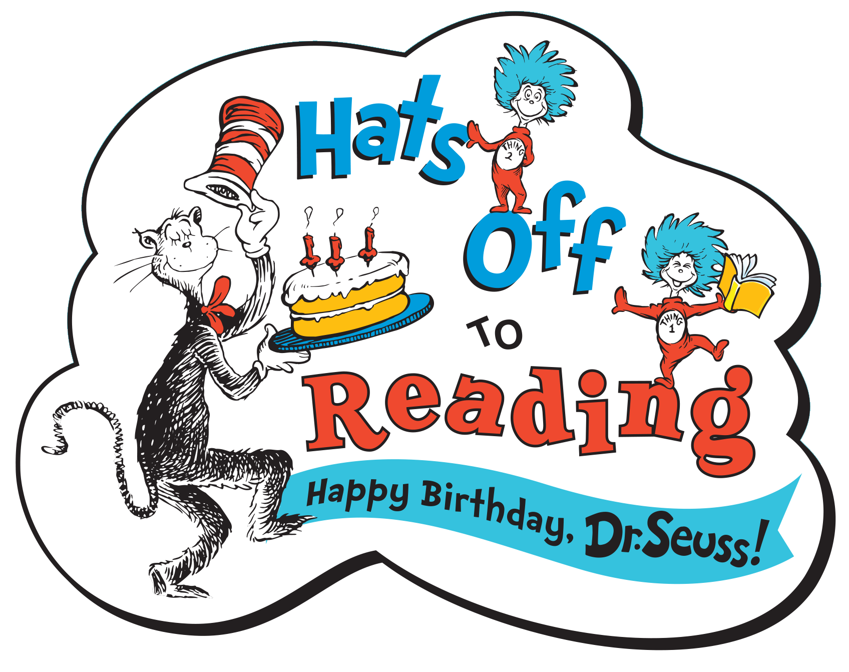 Dr Seuss Day PNG - 132171