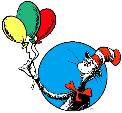 Dr Seuss Day PNG - 132156