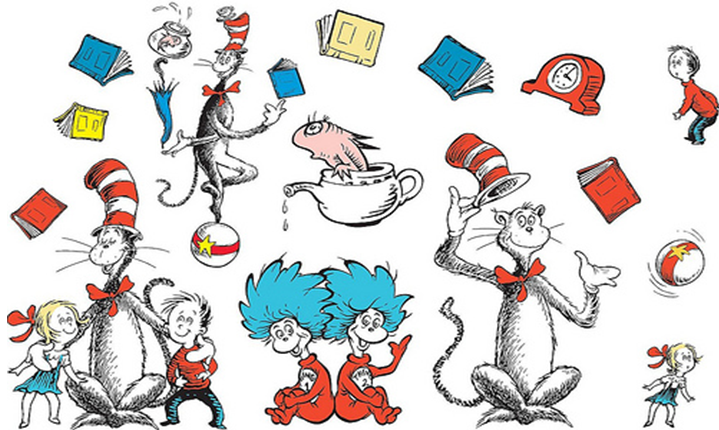 Dr Seuss Day PNG - 132169