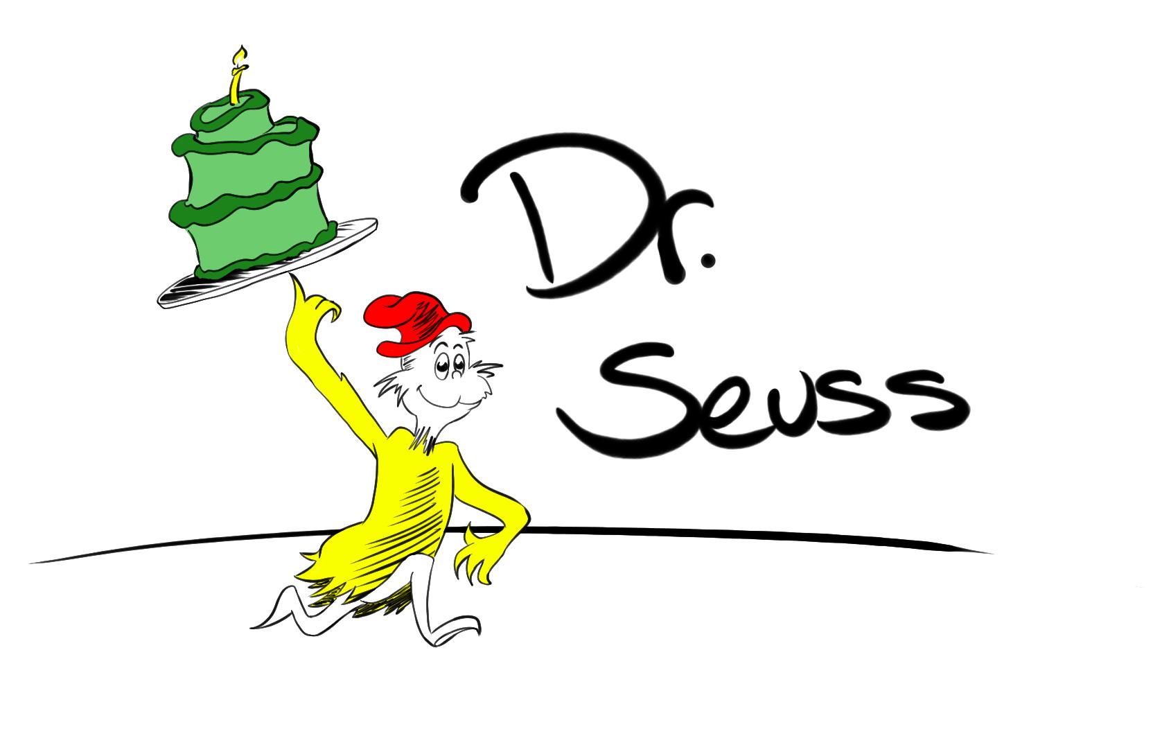 Doodle 746 - Dr Seuss - Dr Seuss Day PNG