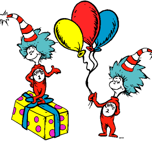 Dr Seuss Day PNG - 132160