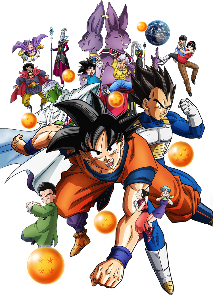 Dragon-ball-super-png by sant