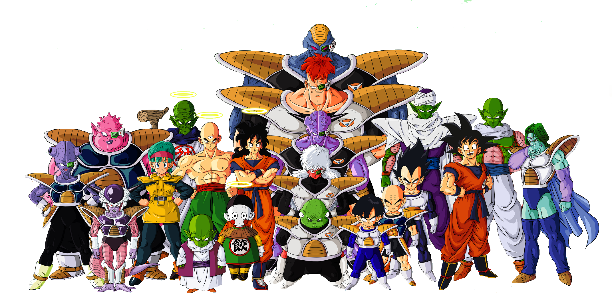 Dragon Ball Z Characters PNG File - Dragon Ball PNG