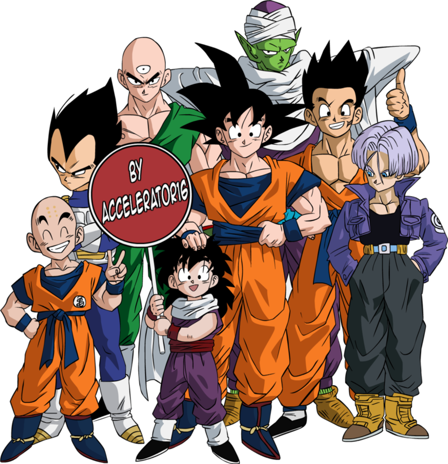 Dragon Ball Z Characters PNG Photos - Dragon Ball PNG