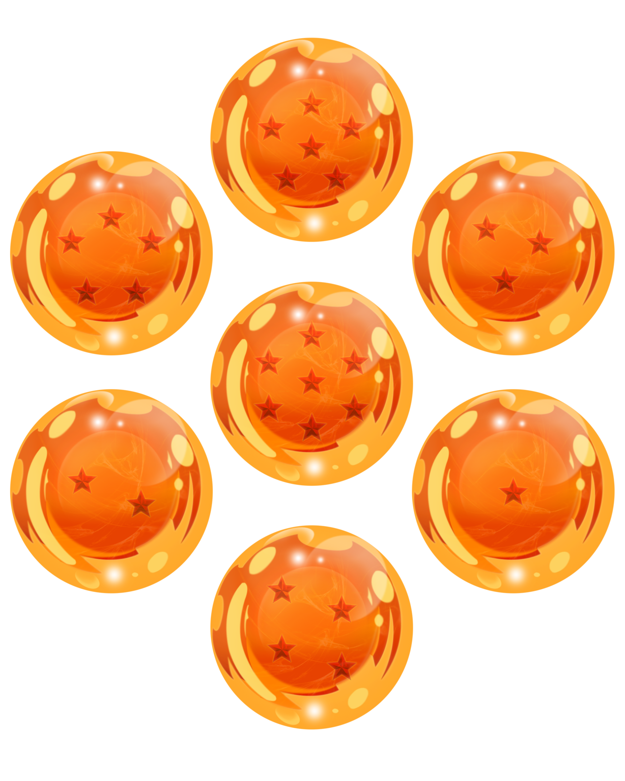 Dragonballs for you by ruga r