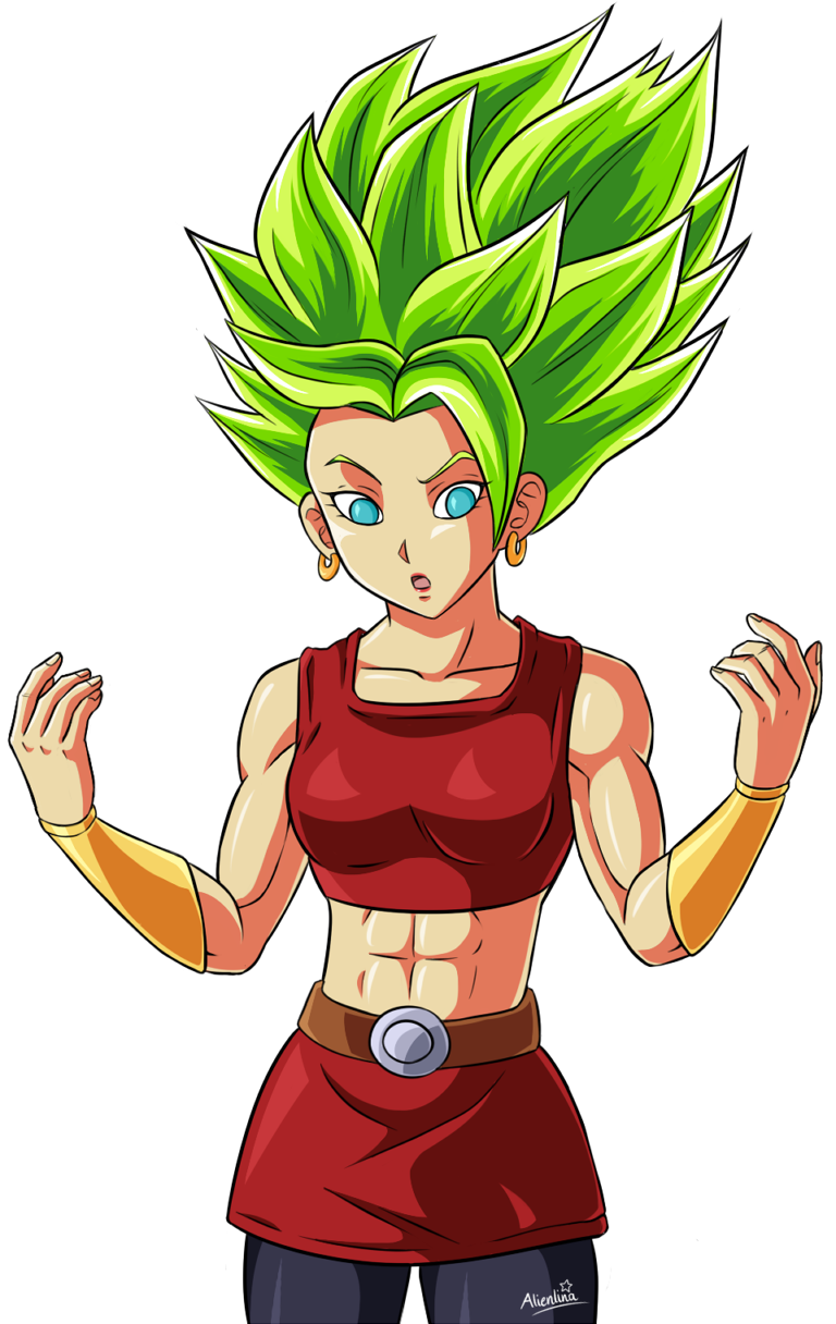 Monstkem 55 9 Perfected LSS Kale by Alienlina - Dragon Ball PNG