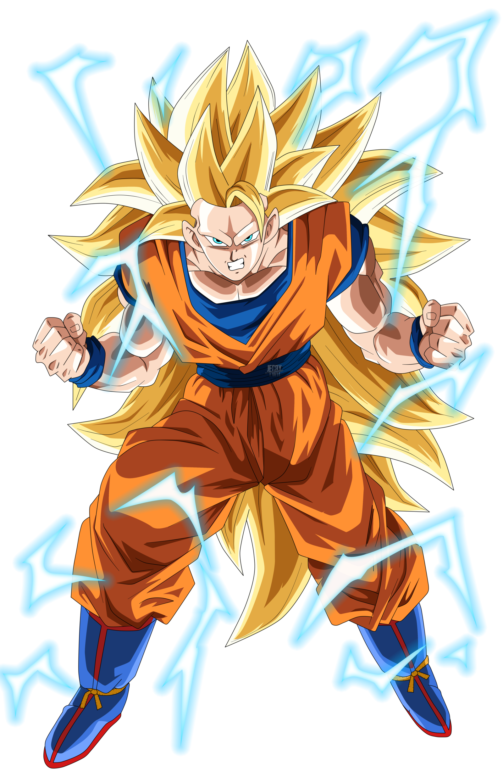 Son Goku Super Saiyajin 3 - Dragon Ball by UrielALV - Dragon Ball PNG