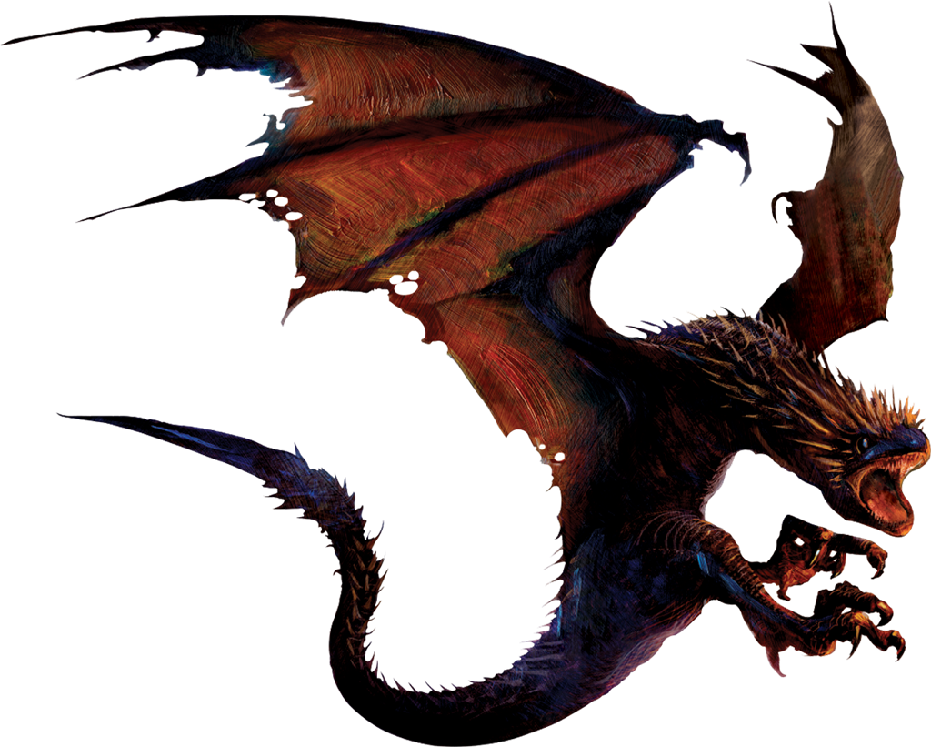Dragon PNG - 7824