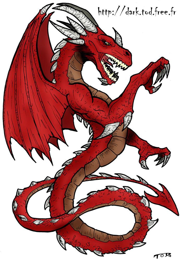 Dragon PNG - 7836
