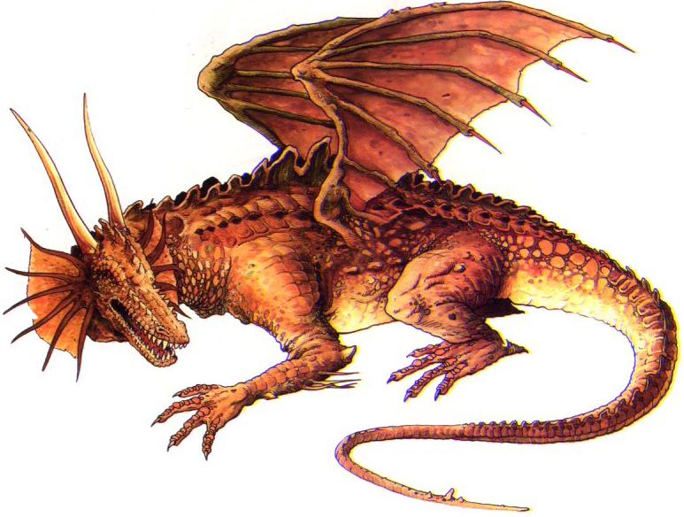 Dragon PNG - 7841