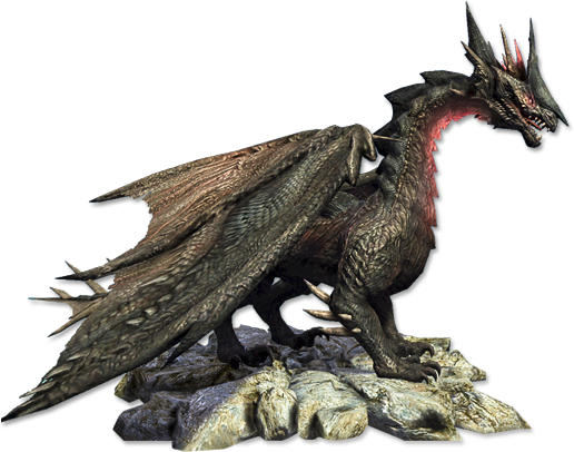 Runewaker-dragon.png - Dragon PNG