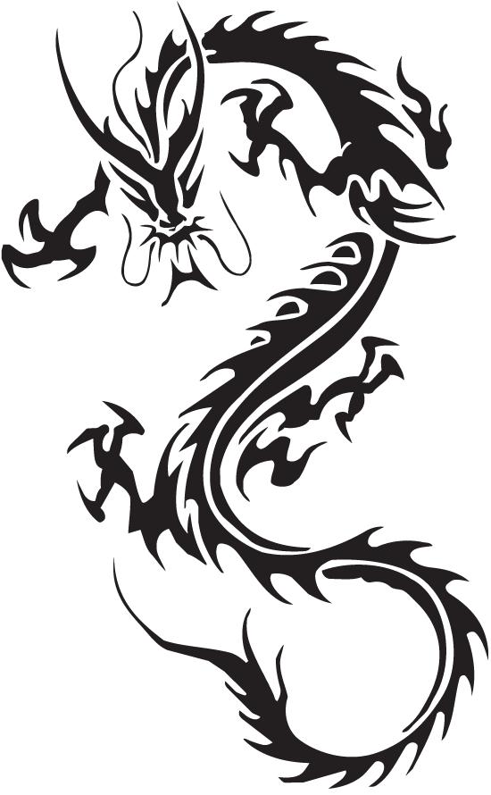 Dragon Tattoos PNG - 9002
