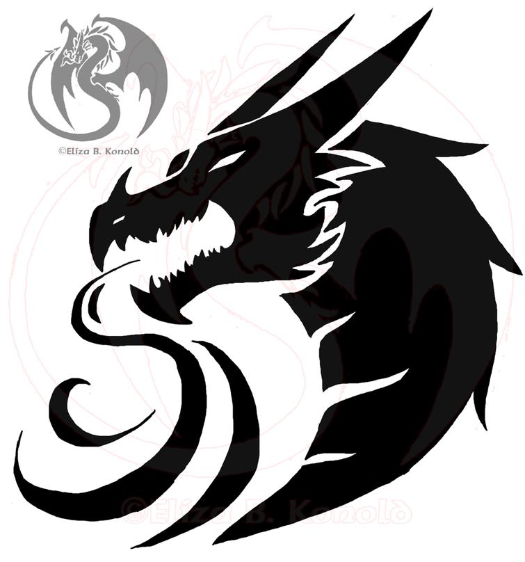 . PlusPng.com Dragon Tattoo L