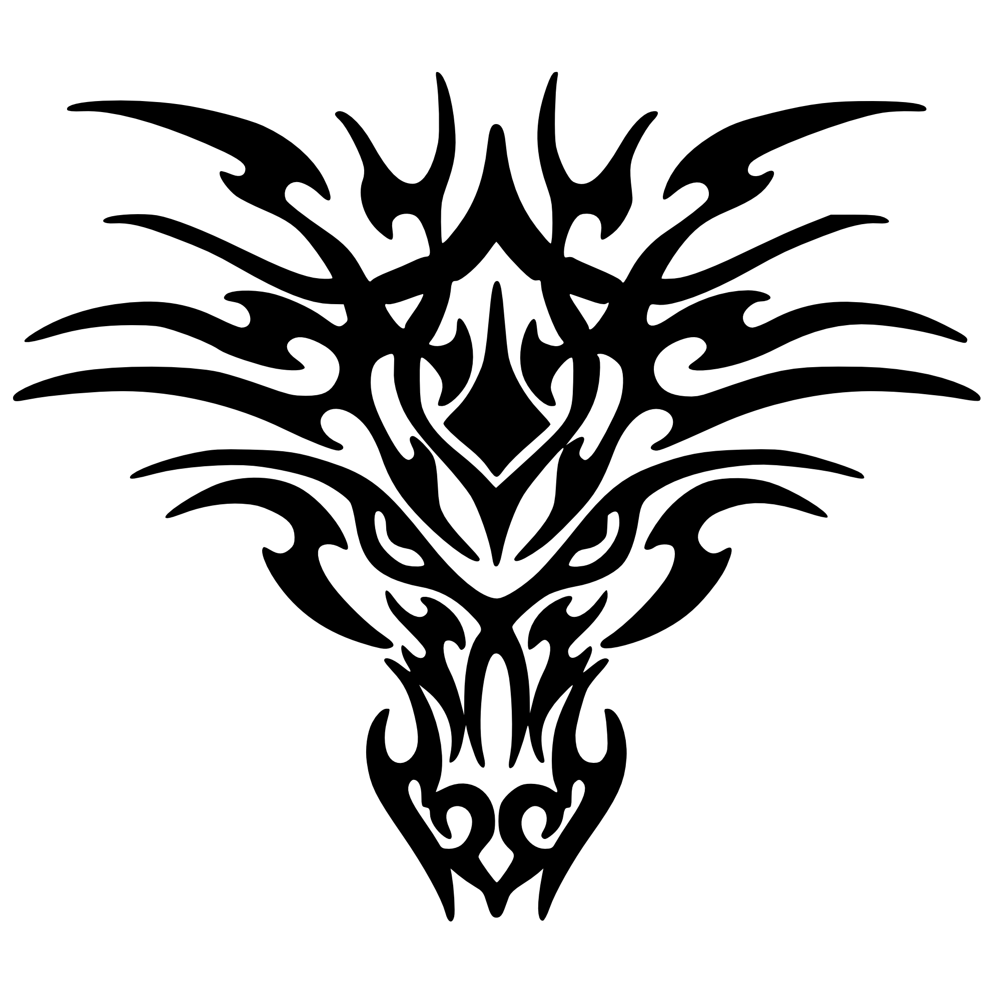 . PlusPng.com Dragon Tattoo Transparent 9 PNG991.png PlusPng.com  - Dragon Tattoos PNG