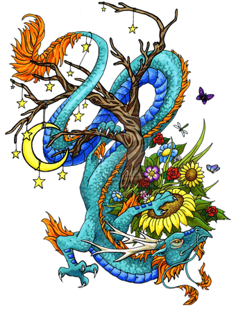 dragon-tattoos-designs-76.png (340×445) | tattoo | Pinterest | Dragons and  Tattoo - Dragon Tattoos PNG