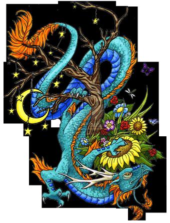 Dragon Tattoos PNG - 9014