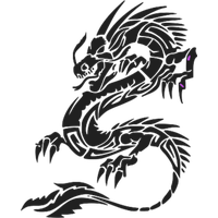 Dragon Tattoos Png Hd PNG Image - Dragon Tattoos PNG