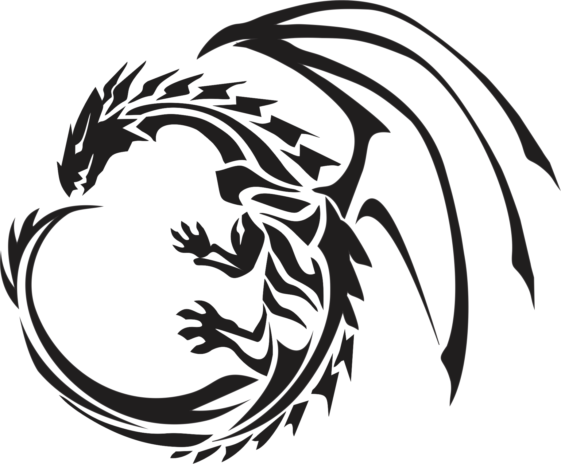 Dragon Tattoos Png Image PNG Image - Dragon Tattoos PNG