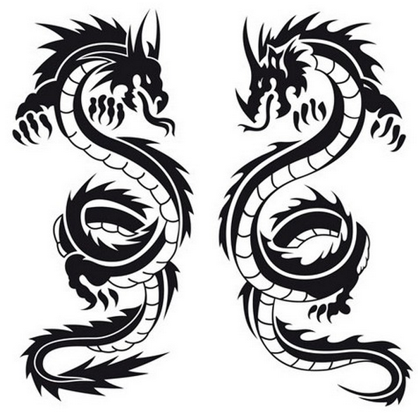 Tattoos clipart, Tattoo graphics design, Tattoo png ideas clip art |  DownloadClipart pluspng.com - Dragon Tattoos PNG
