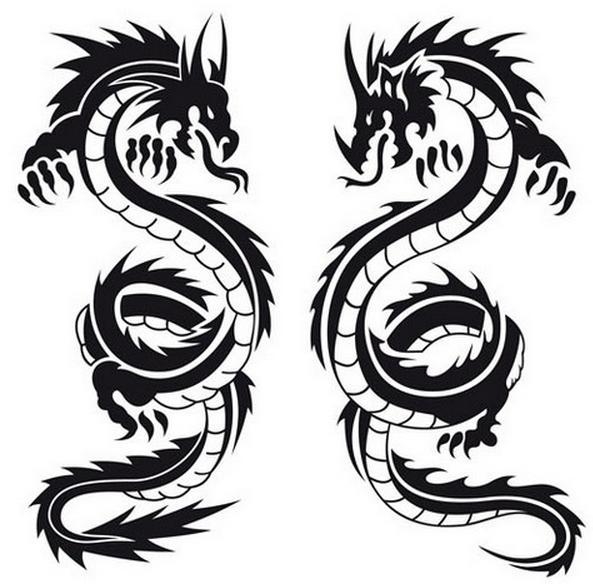 Dragon Tattoos PNG - 9009