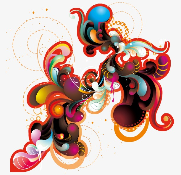 Vector abstract illustration,