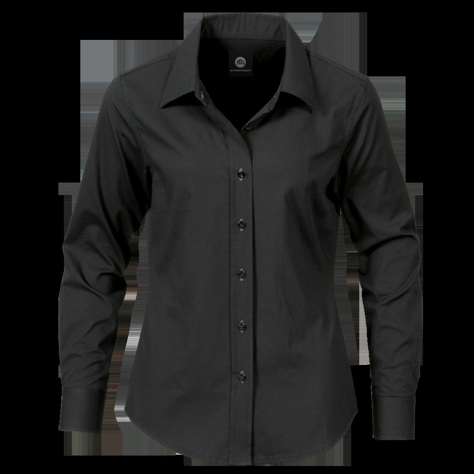 Black Dress Shirt PNG Image - Dress PNG