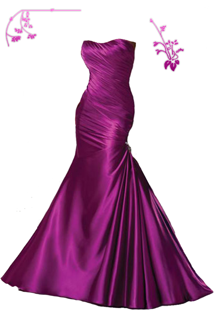 perfect look dress -png by miralkhan PlusPng.com  - Dress PNG