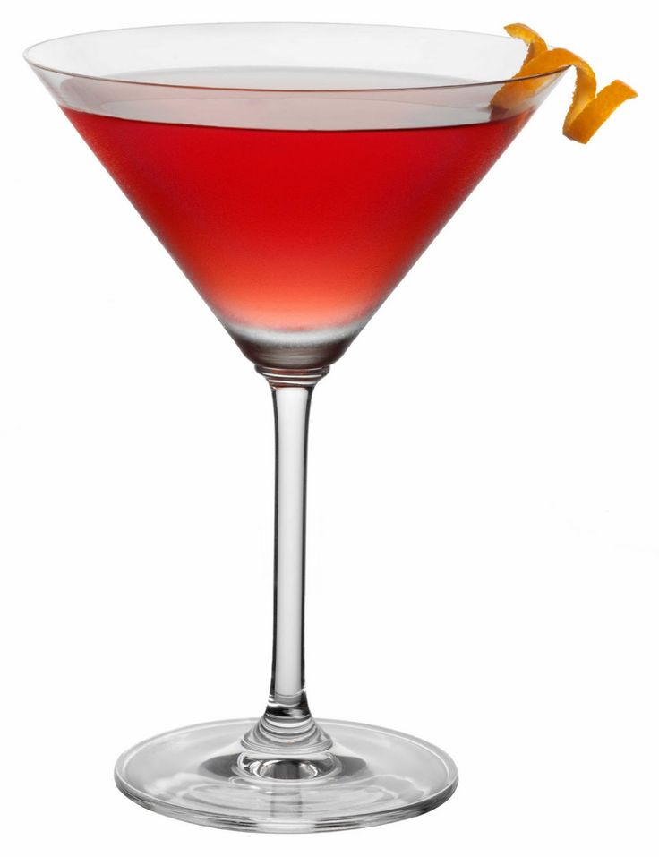 Martini Glass Red Cocktail Dr