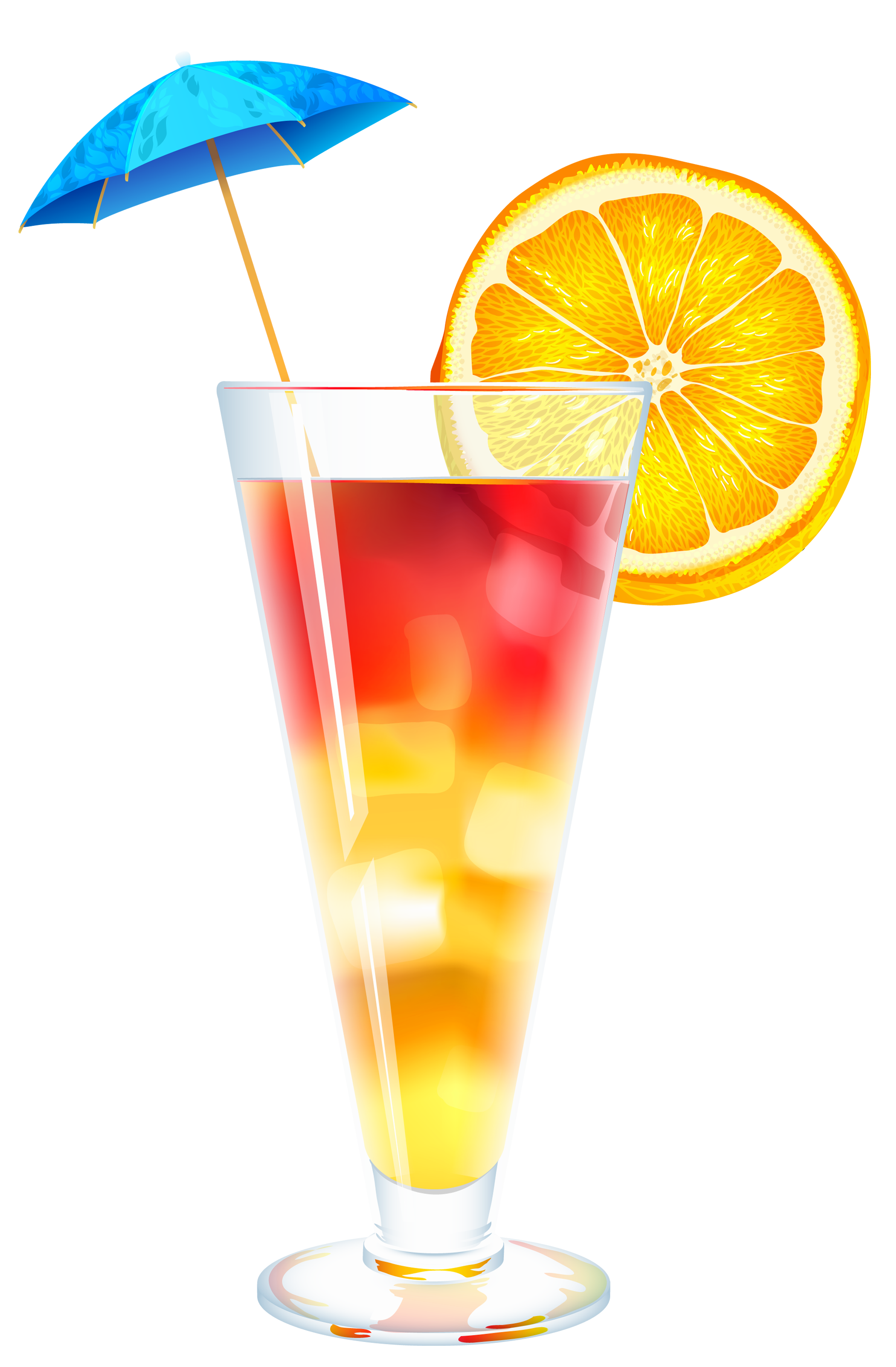Summer Cocktail PNG Clipart Image - Drinks PNG