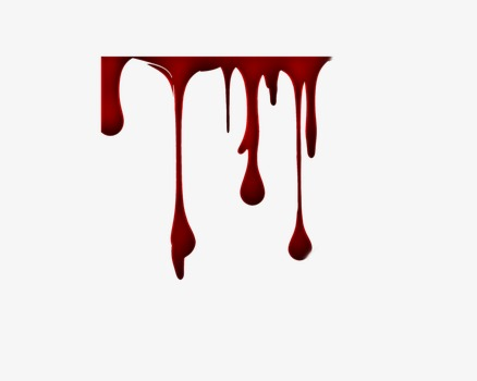 Dripping Blood PNG