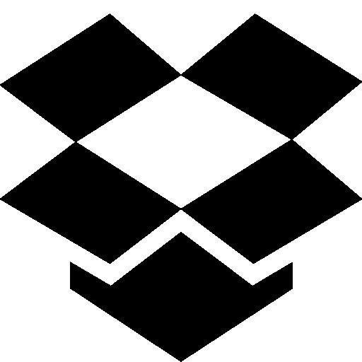 512x512 pixel - Dropbox PNG