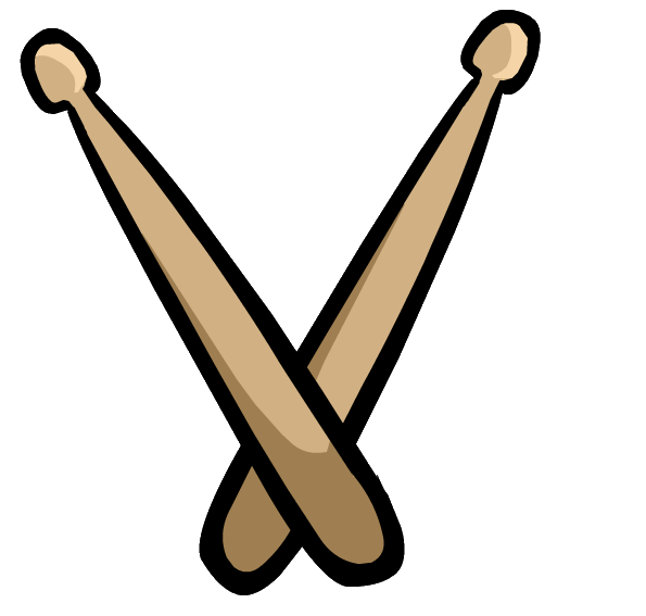 Image - G Billy Drum Sticks.png | Club Penguin Wiki | FANDOM powered by  Wikia - Drumstick HD PNG
