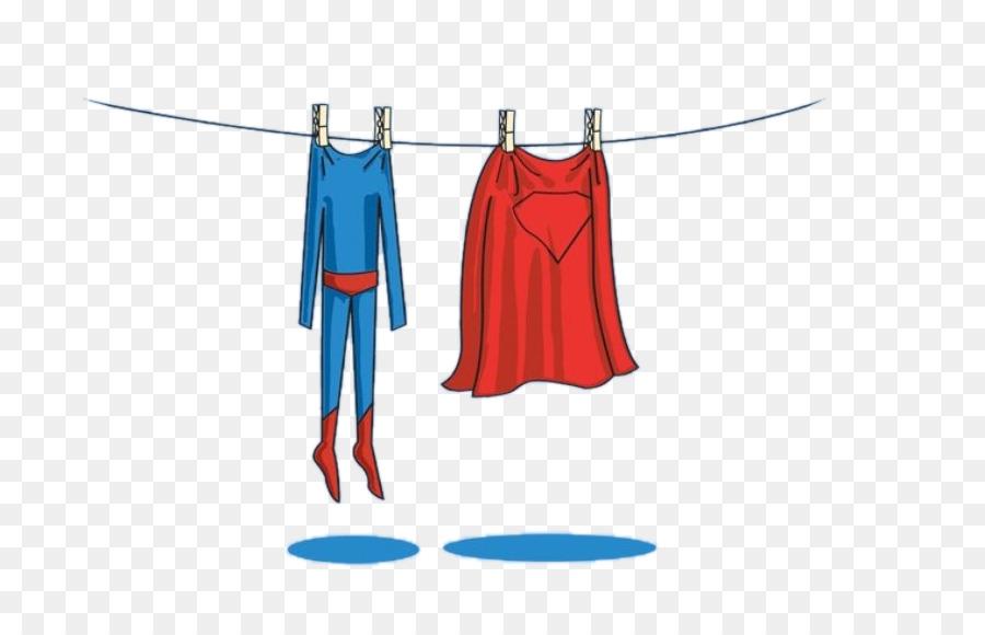 Clark Kent Diana Prince Laundry Superhero Wallpaper - Superman Dry Clothes - Dry Clothes PNG