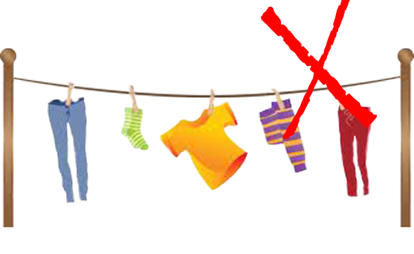 No Place To Dry Your Clothes - Dry Clothes PNG