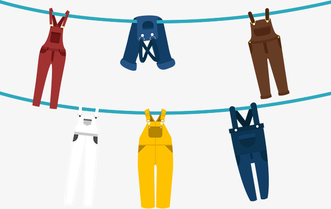 Vector Dry Clothes, Dry Clothes, Vector, Pants PNG And Vector - Dry Clothes PNG