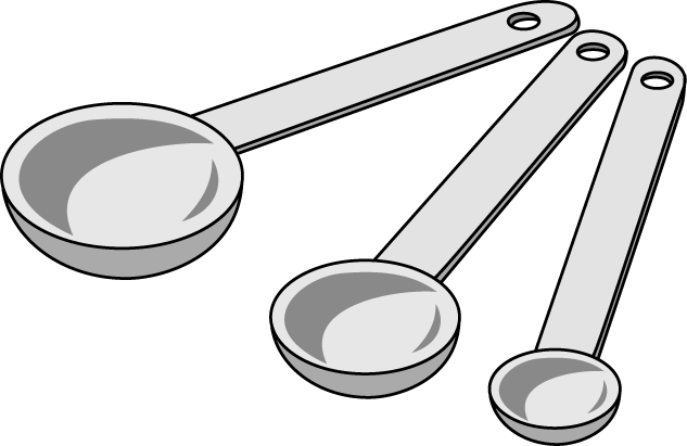 pin Cup clipart measuring spoon #1 - Dry Measuring Cups PNG