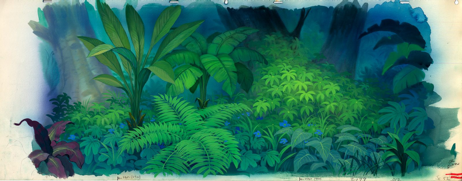 Background painting from u0027The Jungle Booku0027 - Dschungel Hintergrund PNG