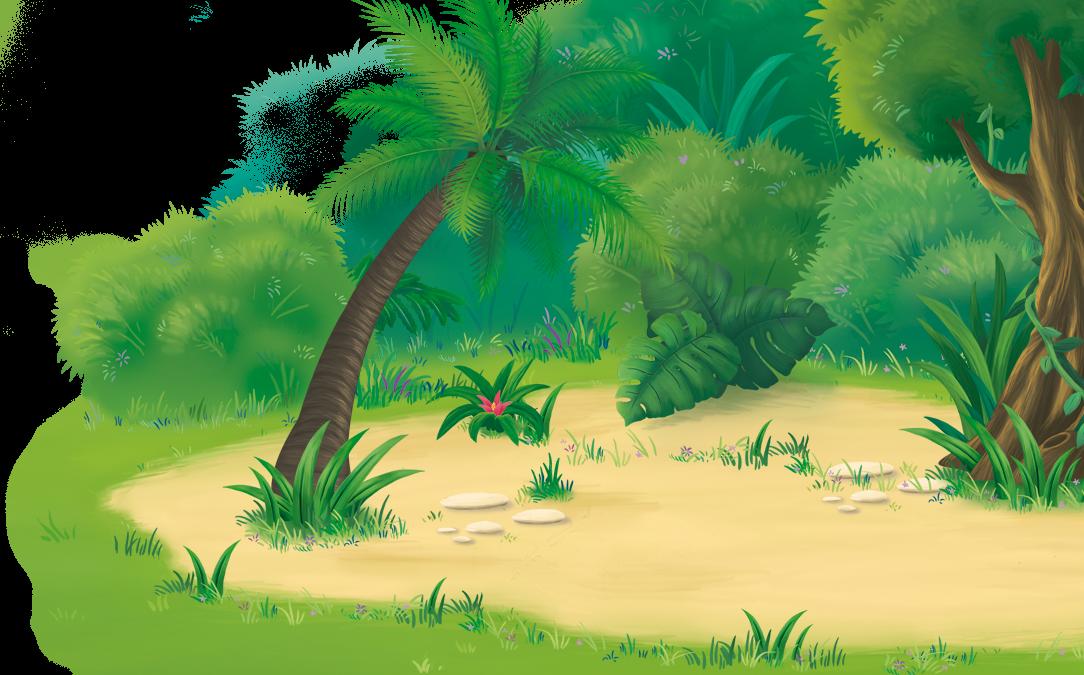 Kinder Dschungel - Dschungel Hintergrund PNG