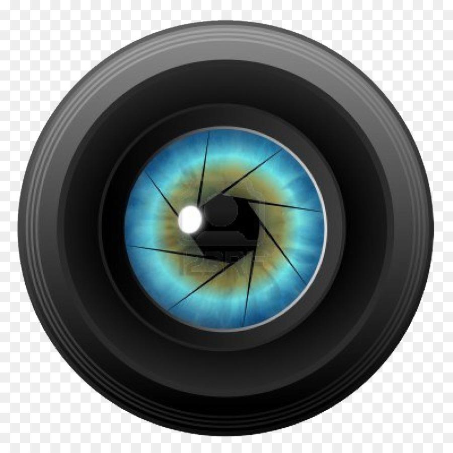 Camera lens Clip art - Camera Lens PNG Pic - Dslr Lens PNG