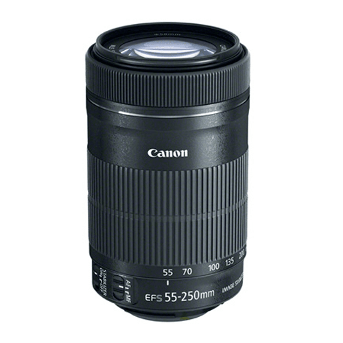 Canon EF-S 55-250mm IS STM. 4172_menu_thumb_img.png - Dslr Lens PNG