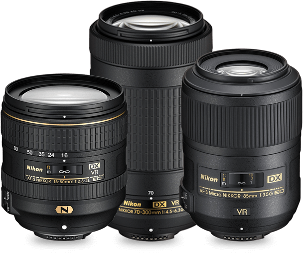 Nikkor lenses for every subject - Dslr Lens PNG