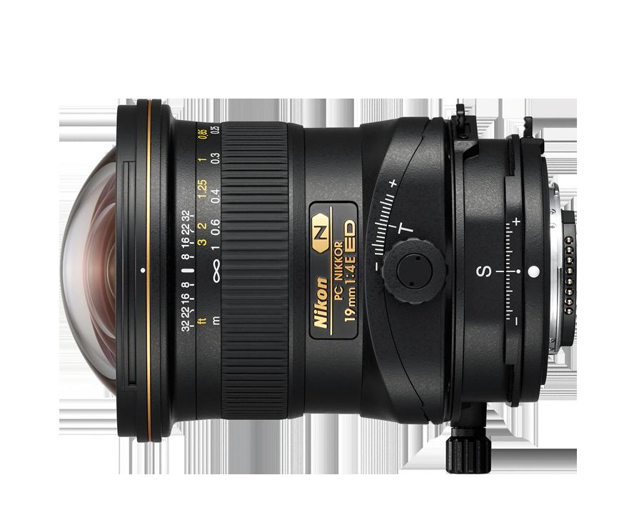 PC NIKKOR 19 mm f/4E ED - Dslr Lens PNG