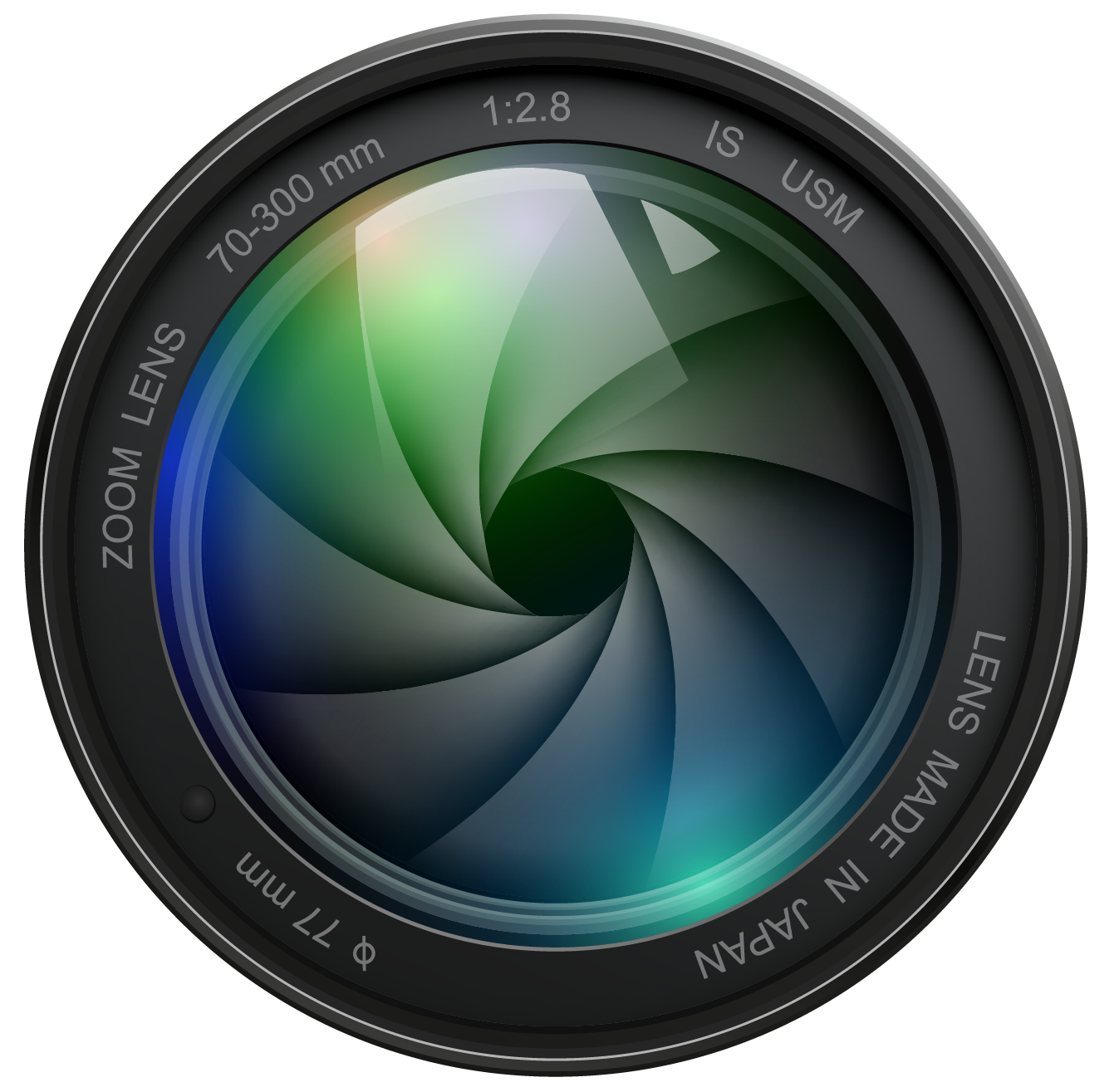 Photography Camera Logo Png Photography ca - Dslr Lens PNG