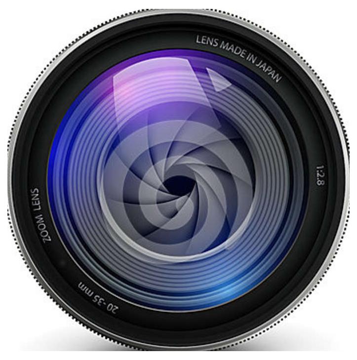 Video Camera Lens PNG Image - Dslr Lens PNG