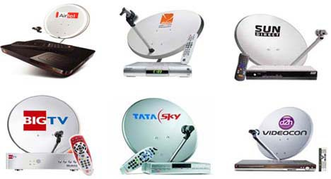 DTH services comparison in India - Dth Antenna PNG