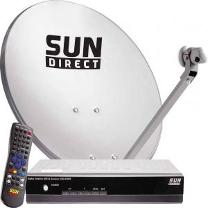 Sun Direct Dish Tv - Dth Antenna PNG