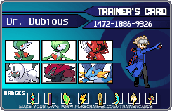 trainercard-Dr. Dubious.png - Dubious PNG
