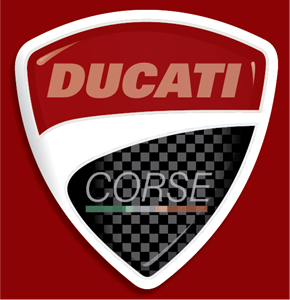 Ducati Corse Logo Vector - Ducati Logo Vector PNG