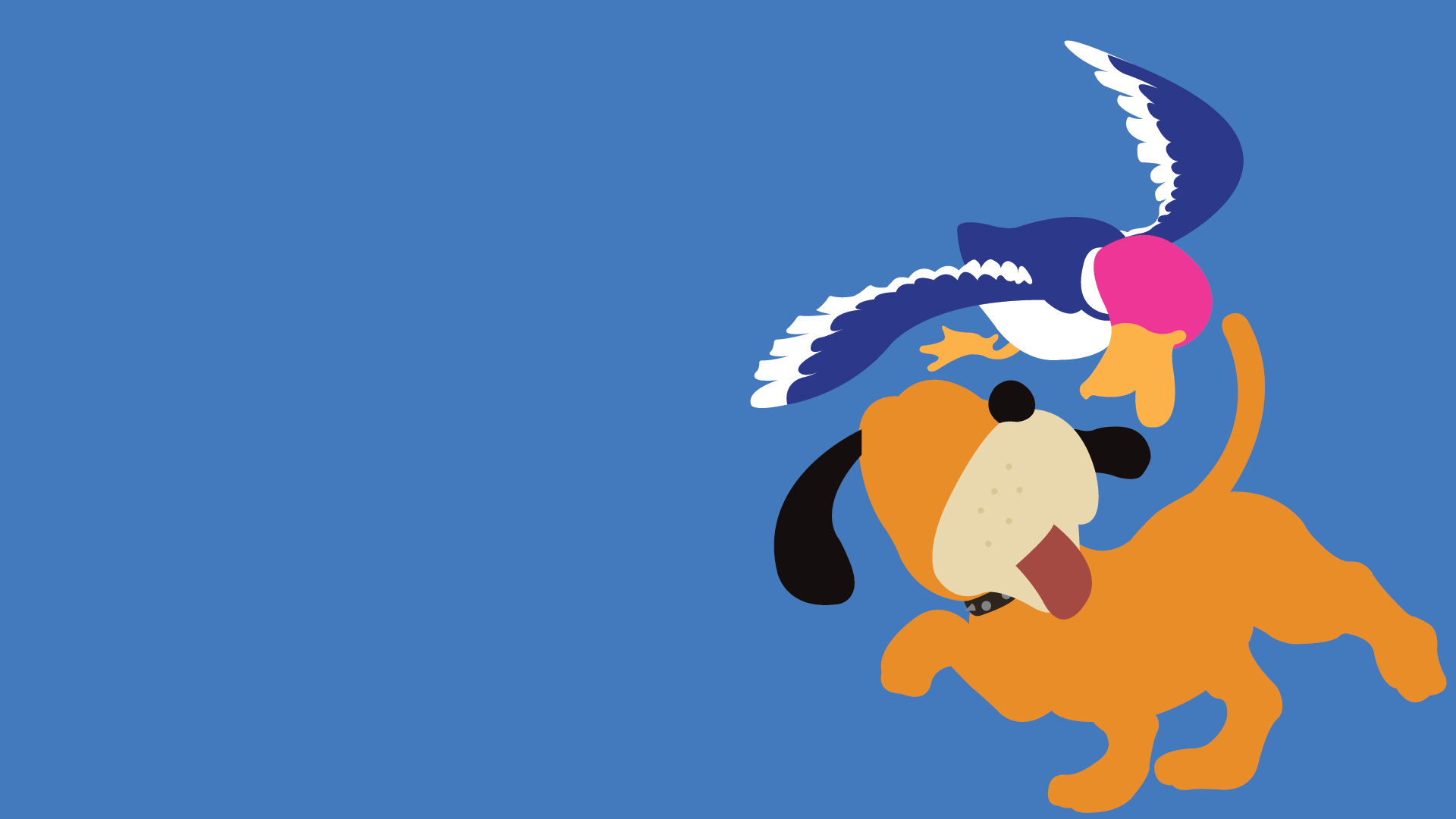 Duck Hunt Duo Wallpaper PlusPng.com  - Duck Hunting PNG HD