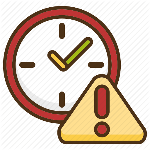 clock, deadline, delay, delivery, due date, shipping, time icon - Due Date PNG